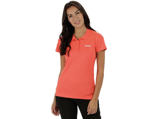 Regatta Maverick Iv Ss Shirt Women Neon Peach Campz De
